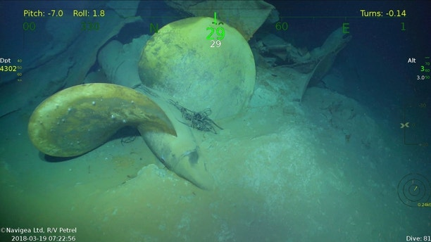 USS Juneau found by Paul Allen ship in WWII ocean grave