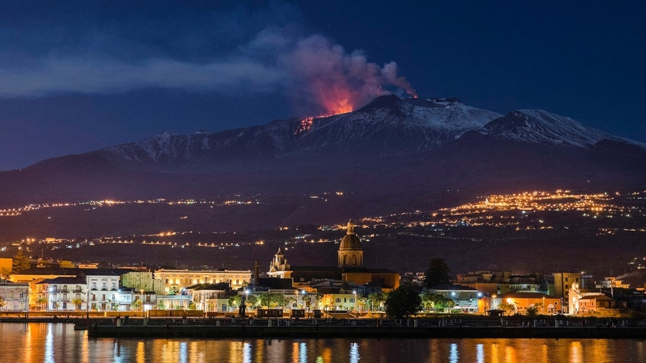 Mount Etna in Sicily is sliding into Mediterra