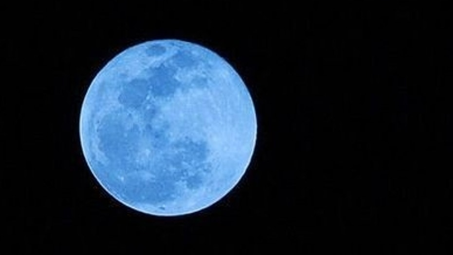 A blue moon will light up the sky on March 31.