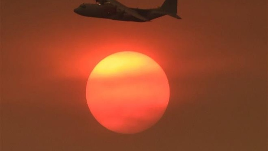 A C-130 Air Tanker is seen in this file photo.