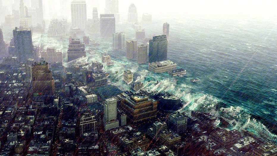"The 2004 film ""The Day After Tomorrow"" imagined a world in which the complete collapse of a climate-regulating Atlantic Ocean current triggered catastrophic sea-level rise and extreme weather events in the U.S."