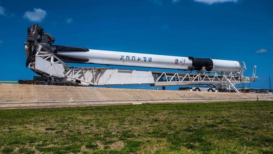 SpoaceX's new Falcon 9 Block 5 being rolled out to launch pad 39A at NASA's Kennedy Space Center (Elon Musk/Instagram)