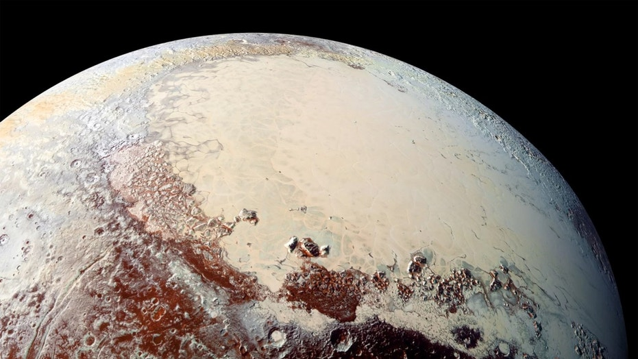 Pluto may be the usual giant comet