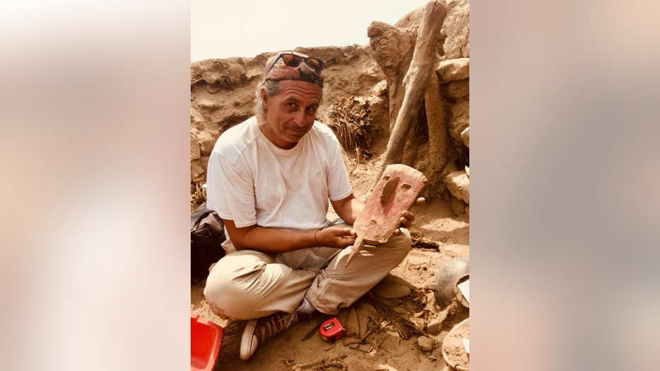 The discovery of the 1,000-year-old mummy offers a glimpse into ancient society (ULB P. Eeckhout)