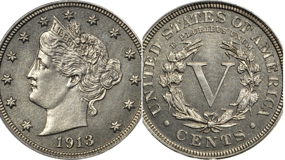Eliasberg 1913 Liberty Head Nickel