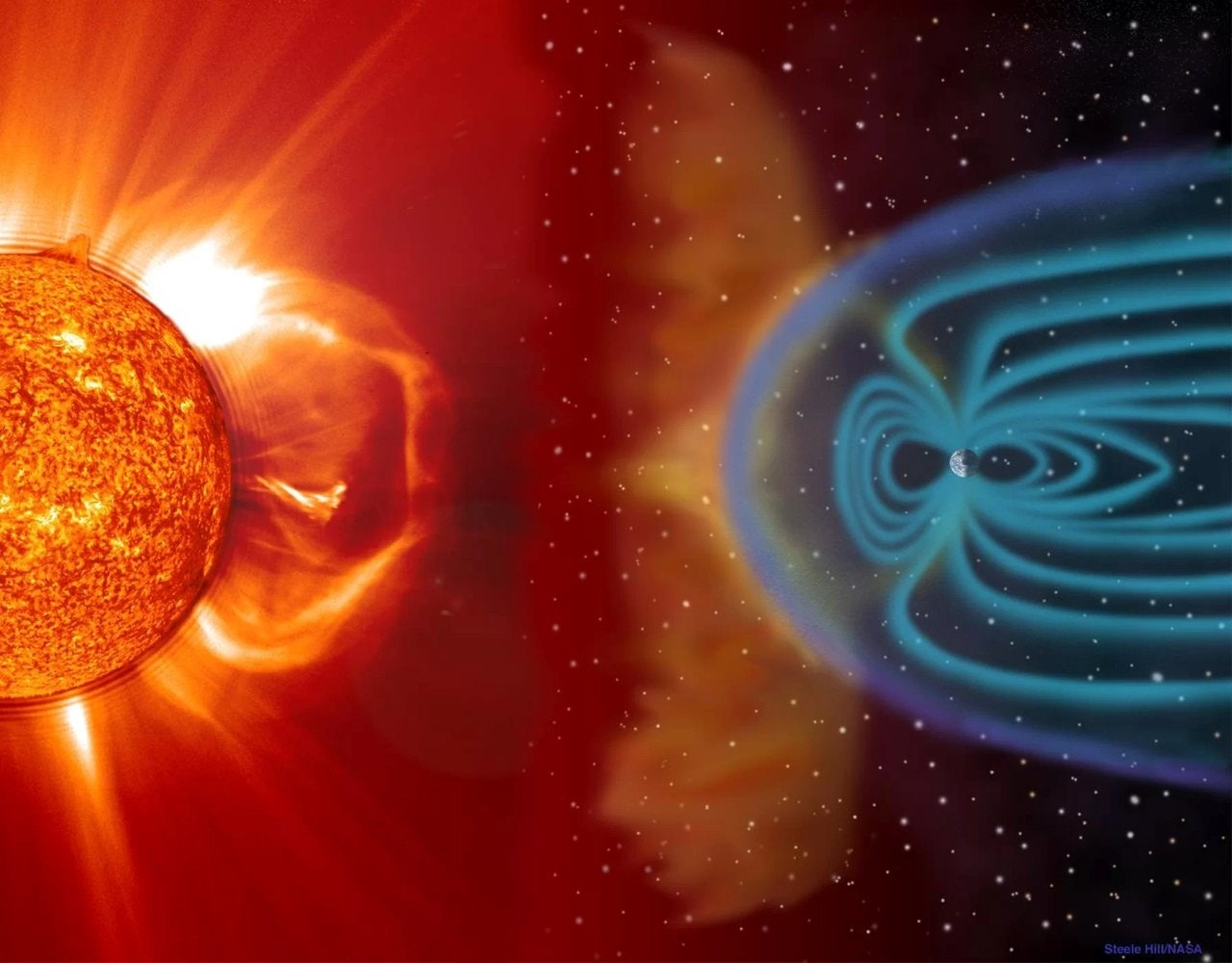 Earth's magnetic field is a ruthless, solar-wind-shredding machine