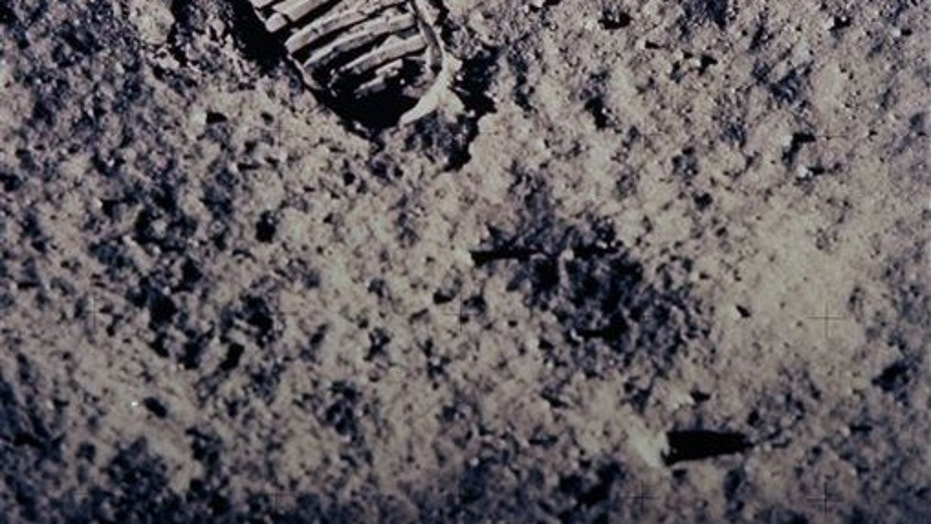 A woman asks a court to approve her ownership of moon dust