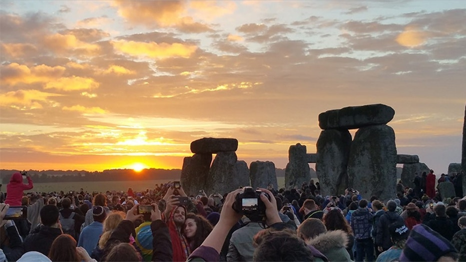 The summer solstice occurs at the Stonehenge in the United Kingdom in 2016.