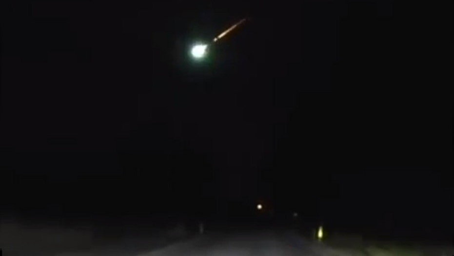Sunday meteor fireball was visible over 10 U.S.  states