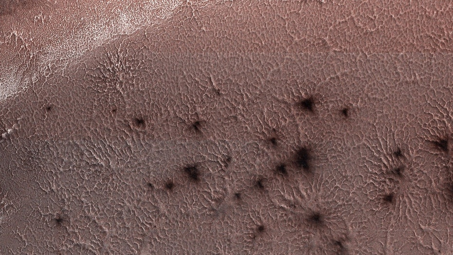 NASA Shares Eerie Image Of 'Spiders' Crawling On Mars Surface