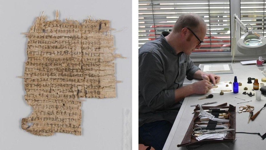 The mysterious ancient Greek document.