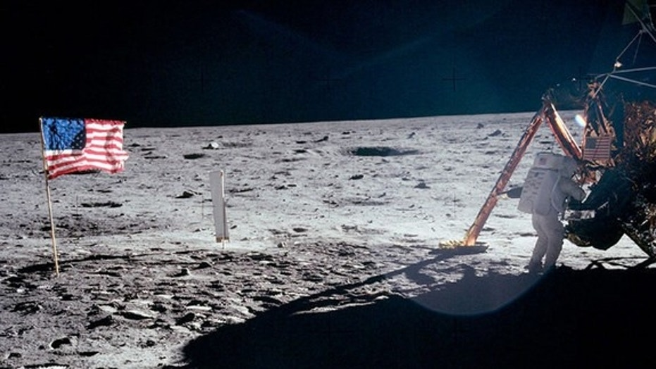 Neil Armstrong's Only Full Body Photograph on the Moon Shows Him on Apollo 11 Lunar Module