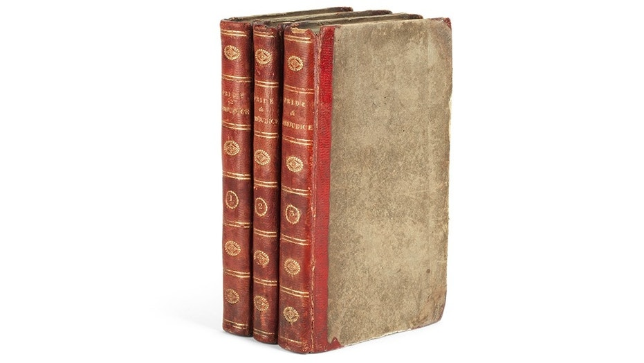 """Book lovers will be able to bid on a first-edition copy of """"Pride and Prejudice"""" at a London auction this fall."""