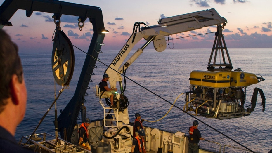 NASA is using underwater robots to explore the deep-sea ...