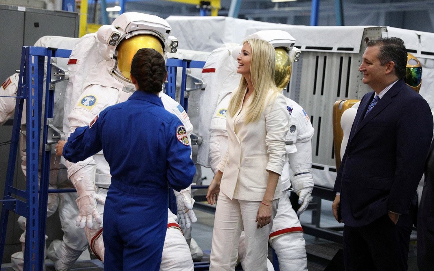 Astronaut Trump? Ivanka says she wanted to go to space in NASA visit | Fox News