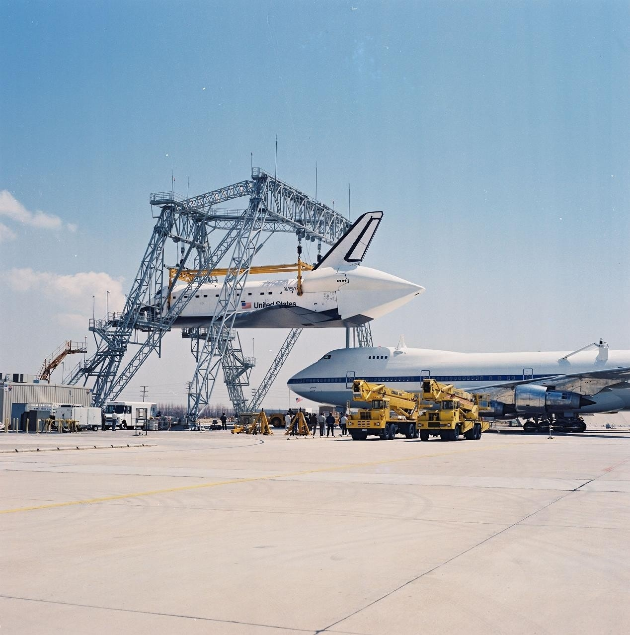 space shuttles were built where - photo #24