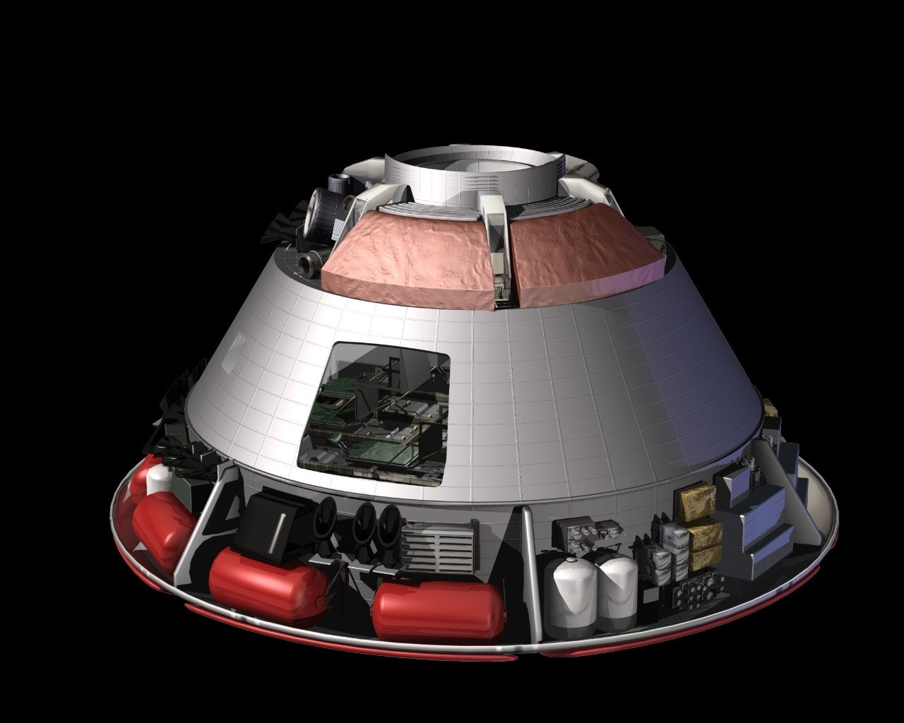 new nasa space capsule - photo #36