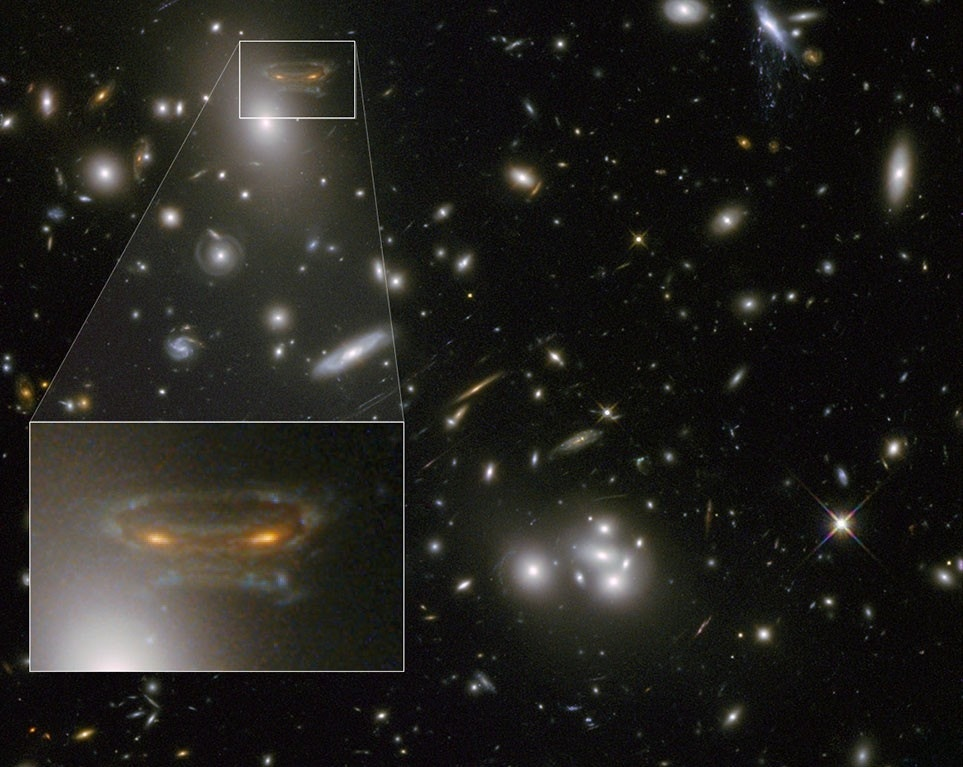 Hubble telescope spots a 'space invader' | Fox News