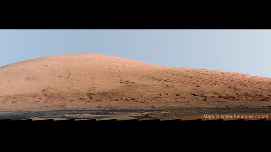 Through Curious eyes: NASA's newest look at the Red Planet