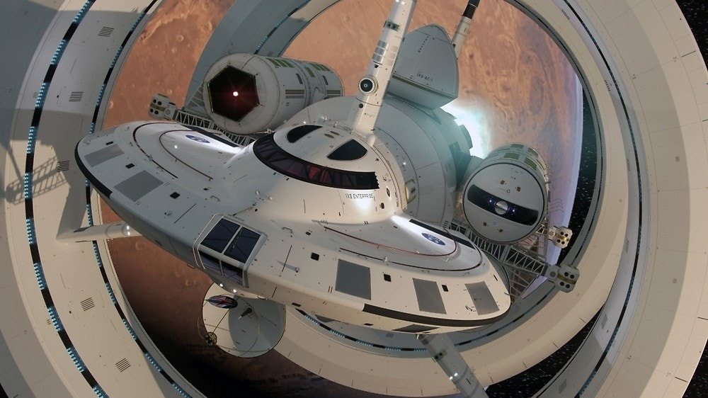 new nasa spaceship warp designs - photo #14