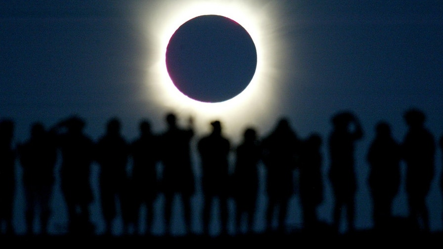 Stunning pictures of solar eclipses