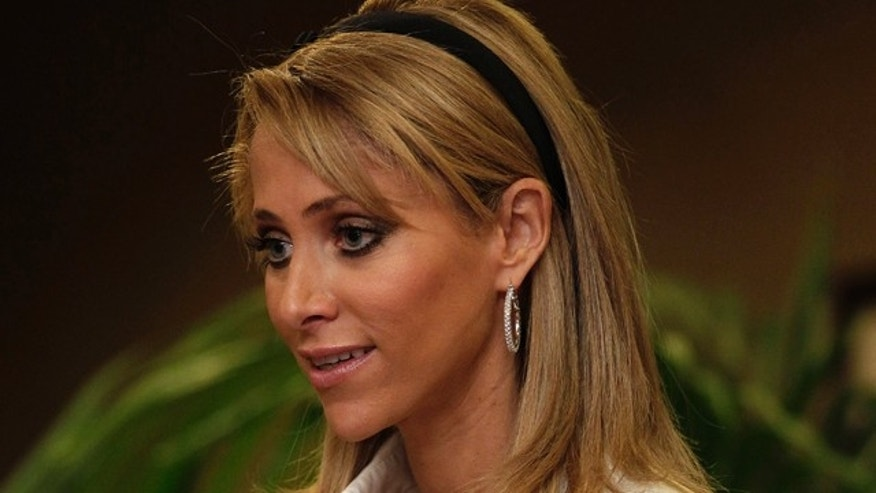 Oct. 14: Mexican television reporter Ines Sainz speaks during a news conference in Los Angeles.