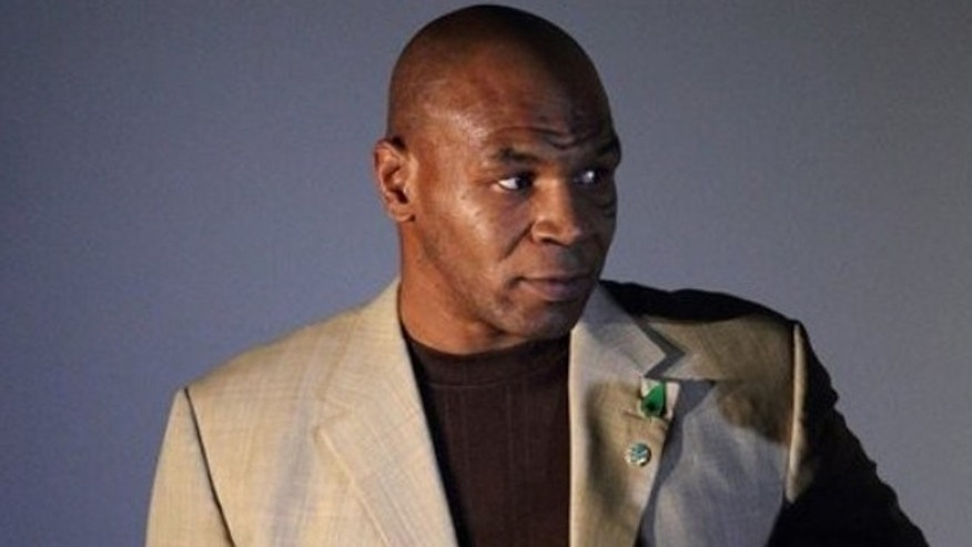 June 29: Mike Tyson seen at the  presentation of  his movie Tyson at the 1st Astana International Action Film Festival in Astana, Kazakhstan.