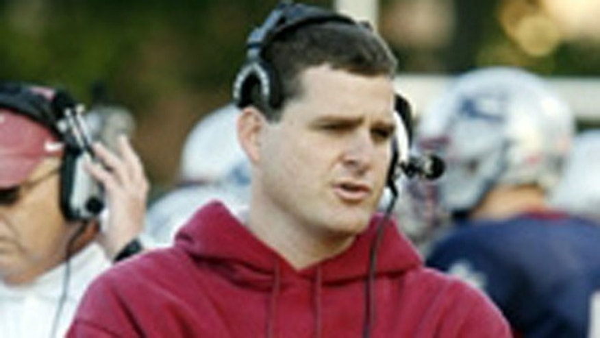 Maritime College football coach Clayton Kendrick-Holmes