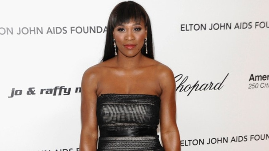 Feb. 27: Tennis player Serena Williams arrives at the 2011 Elton John Academy Award viewing party in West Hollywood, Calif.