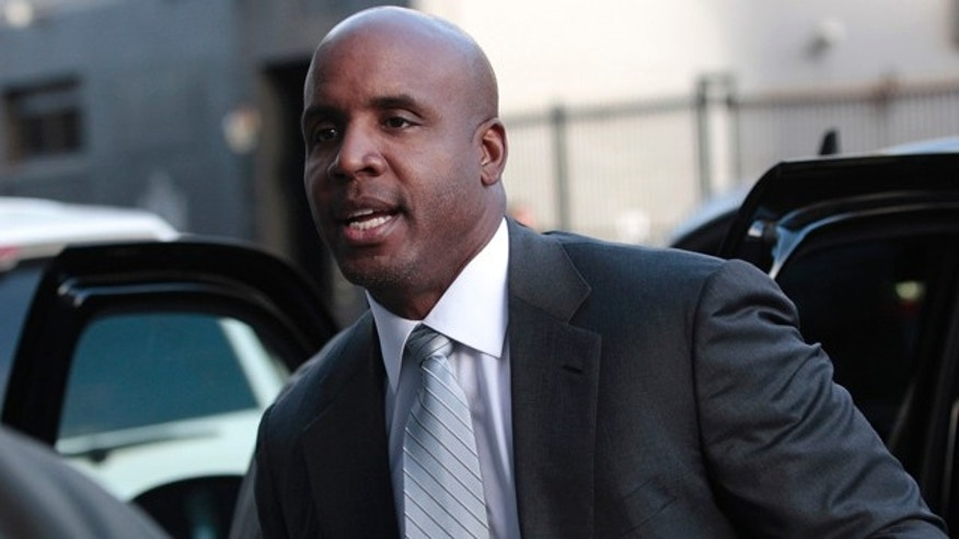 April 5: Former baseball player Barry Bonds arrives for his trial at federal court in San Francisco.