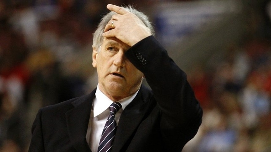 March 27, 2011: In this file photo, Sacramento Kings head coach Paul Westphal reacts during an NBA basketball game against the Philadelphia 76ers in Philadelphia.