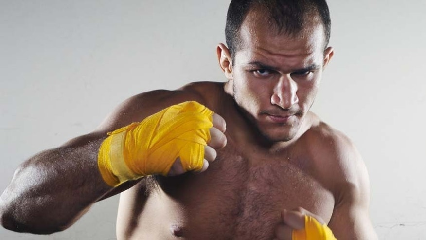 UFC heavyweight champion Junior Dos Santos.