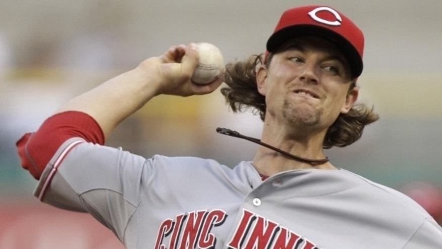 Reds pitcher Mike Leake hit a home run and got the win, but the real star of Monday night's game was Caleb Lloyd.