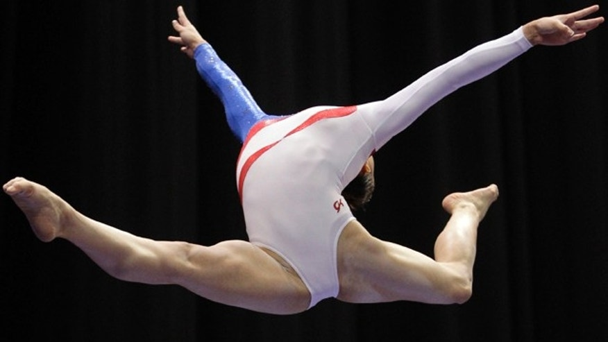 June 10, 2012: Kyla Ross competes on the balance beam at the U.S. gymnastics championships, in St. Louis.