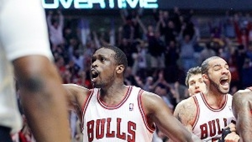 Chicago Bulls forward Luol Deng is the only NBA player on a British Olympic basketball squad.