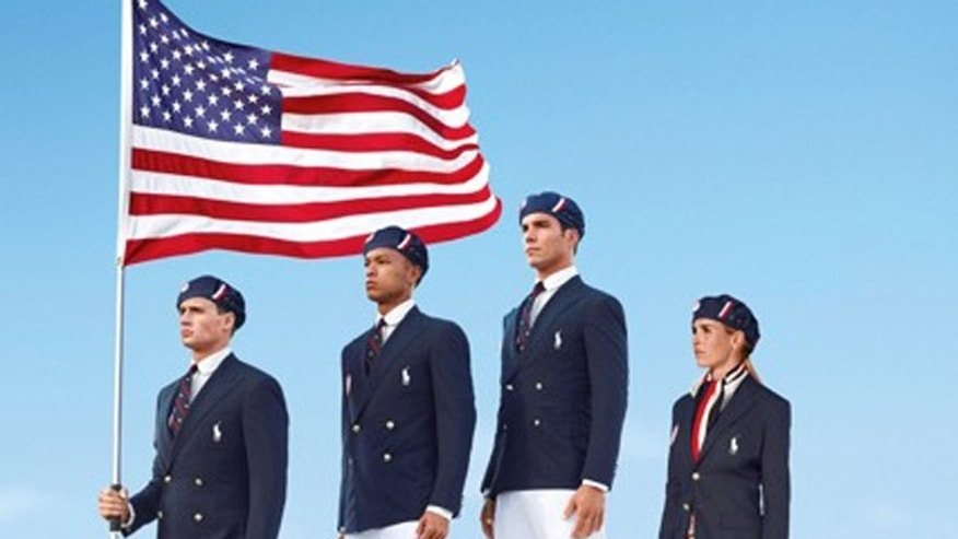 "The company, in a statement, said the outfits aim to embody ""the spirit of American athleticism and sportsmanship."" (AP/Ralph Lauren)"