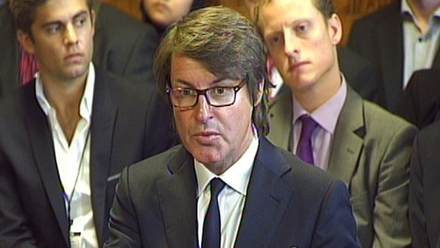 July 17, 2012: G4S chief executive Nick Buckles, gives evidence on Olympic security staffing to the Home Affairs Select Committee at the House of Commons, London.