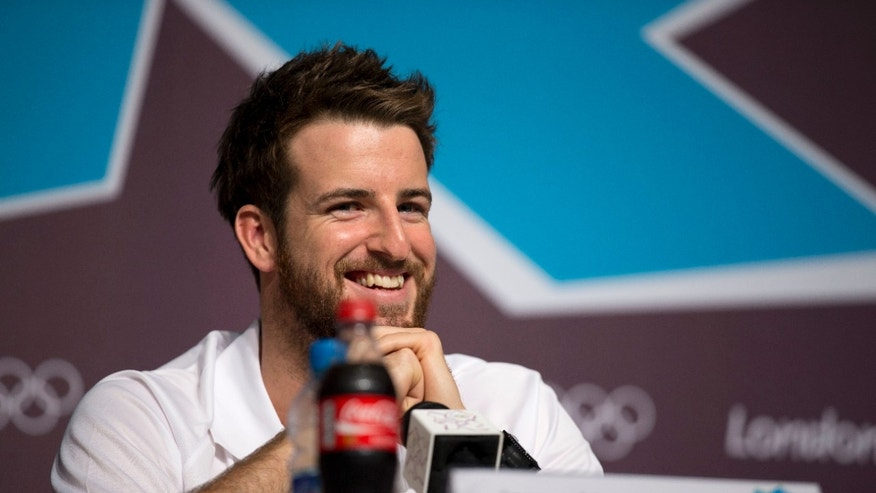 July 23, 2012: Australian swimmer James Magnussen smiles during a news conference in the Main Press Centre at the 2012 Summer Olympics in London.