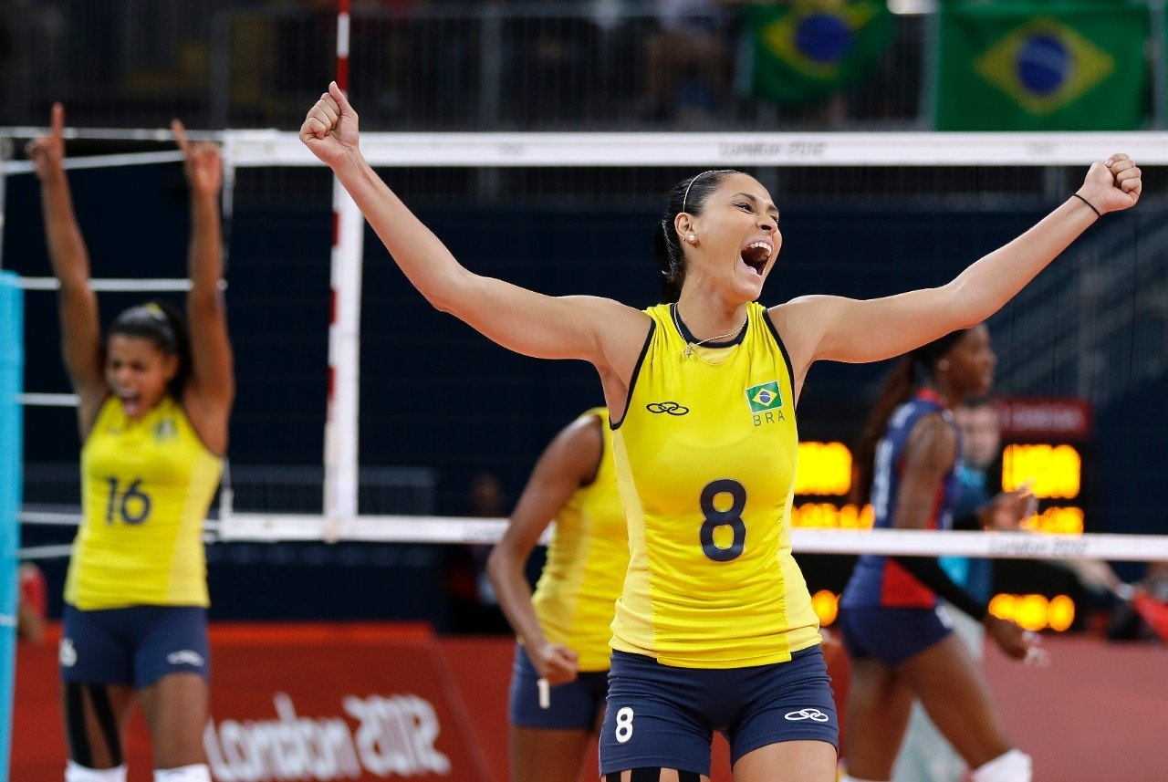 Brazil beats US for Olympic gold in women's volleyball ...