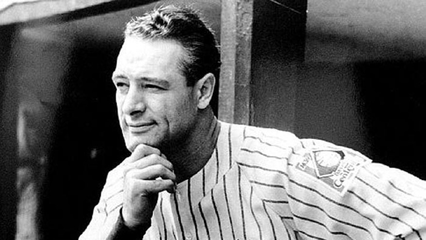 Letter sent by Yankees icon Lou Gehrig up for auction.