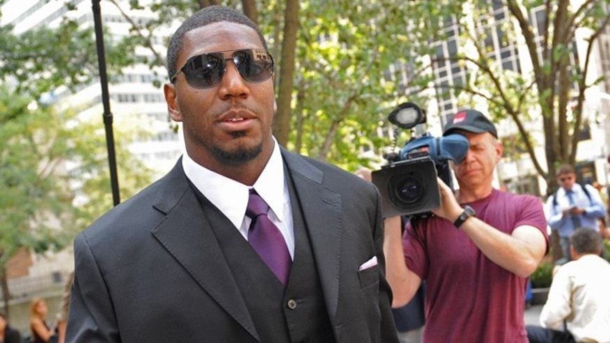 Sept. 17, 2012: New Orleans Saints linebacker Jonathan Vilma arrives at the NFL football headquarters to meet with Commissioner Roger Goodell to discuss his suspension that was temporarily lifted in New York.
