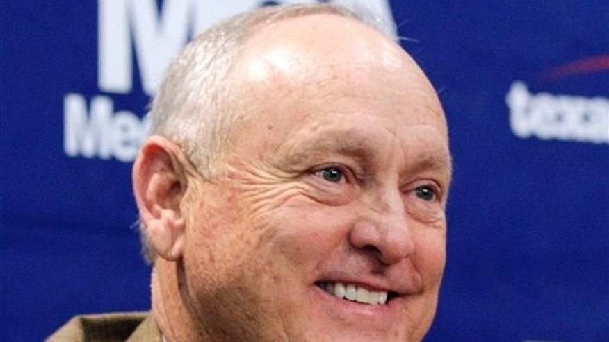 """Feb. 10, 2011: This photo shows shows the Baseball Hall of Famer and Texas Rangers team president Nolan Ryan who has compiled dozens of his favorite recipes for """"The Nolan Ryan Beef Cookbook."""" Little, Brown and Co. announced Monday, Nov. 26, 2012, that the book is scheduled for May 2014."""