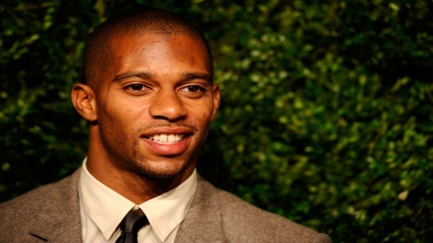 Jack Pinto, a fan of New York Giants receiver Victor Cruz (pictured), was among 20 children shot to death Friday in Newtown, Conn.