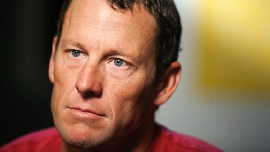 Feb. 15, 2011: Lance Armstrong pauses during an interview in Austin, Texas.