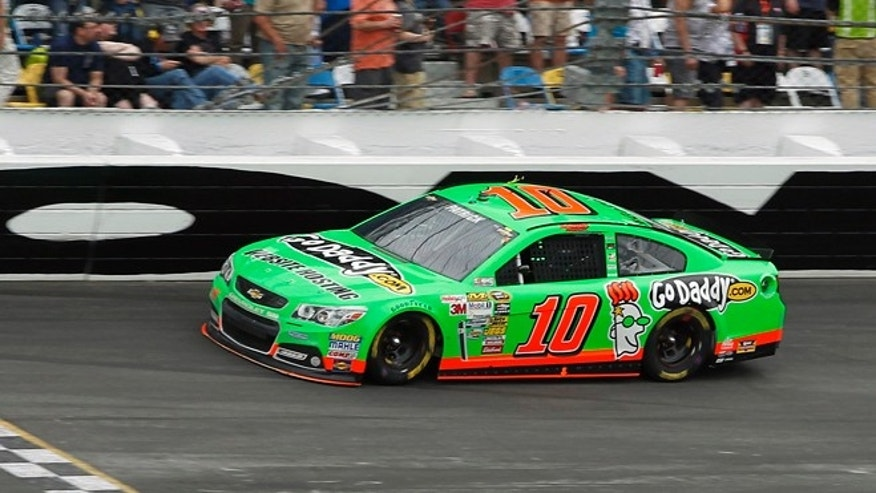 Feb. 24, 2013: Danica Patrick competes during NASCAR Daytona 500 Sprint Cup Series auto race at Daytona International Speedway, Sunday, in Daytona Beach, Fla.