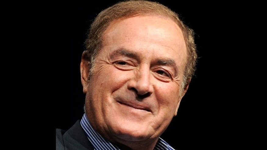 This is an Aug. 1, 2011 file photo showing NBC Sports announcer Al Michaels in Beverly Hills, Calif. Police in Southern California say that Michaels has been arrested on suspicion of drunken driving.