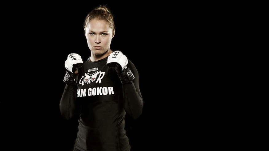 Strikeforce MMA fighter Ronda Rousey.