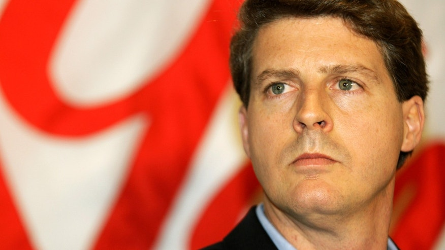 New York Yankees co-chairman Hal Steinbrenner during a news conference, on Dec. 18, 2008.