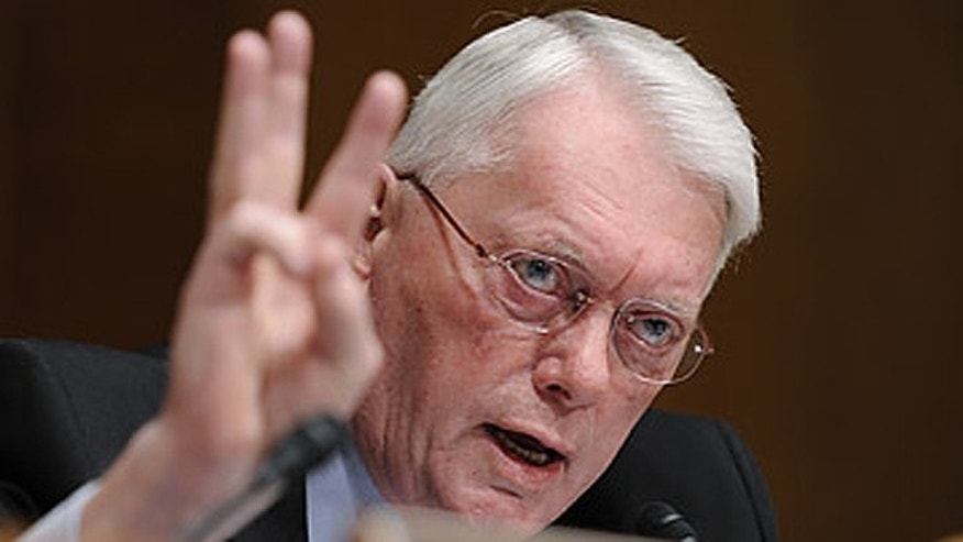 Jim Bunning, seen here in 2009 as a member of the Senate Budget Committee, doesn't think Alex Rodriguez should be allowed to play baseball ever again following his second suspension for performance-enhancing drugs. (AP/Susan Walsh)