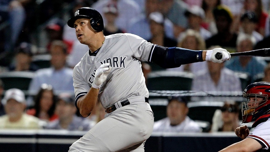 March 12, 2012: Alex Rodriguez plays for the Yankees.